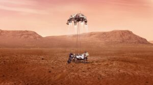 Read more about the article NASA's ingenuity Mars Helicopter will be the first to fly on another planet.
