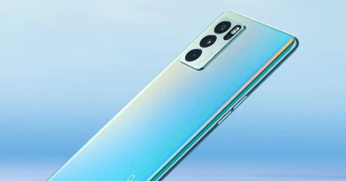 Read more about the article Oppo Reno 6Z 5G Renders surface Online Ahead of July 21 Launch