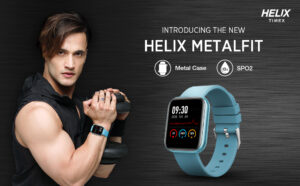 Read more about the article Helix Timex Metalfit smartwatch with IP68 water resistance introduced