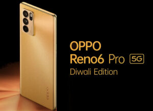Read more about the article OPPO Reno6 Pro 5G Diwali Edition with 6.55-inch Full HD+ 90Hz OLED curved display introduced
