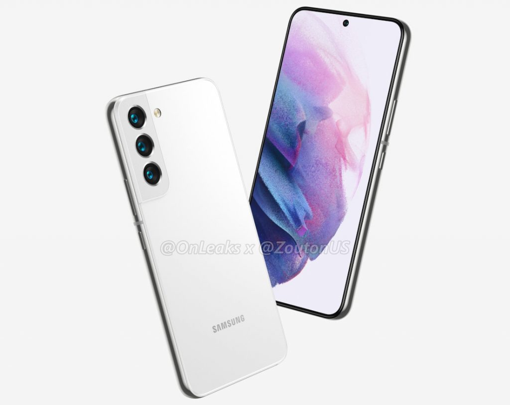 Read more about the article Samsung Galaxy S22 and Galaxy S22+ with 6.06-inch & 6.55-inch AMOLED display surface in renders