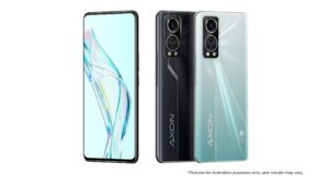 Read more about the article ZTE Axon 30 Aqua with a 6.92 inches FHD+ 120Hz AMOLED display introduced